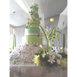 Wedding Cake Decor Arrangement